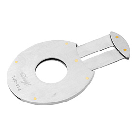 Stainless Steel Cigar Cutter Single Blade
