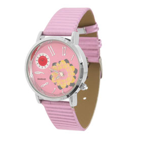 Fashion Jewelry Sunflower Purple Strap Quartz Watch Wrist Watch