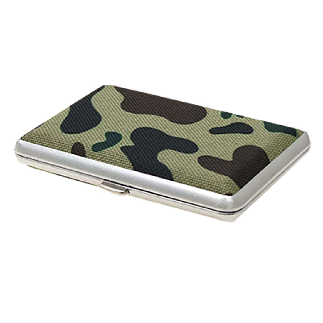 Chrome-Plated-Frame-Cigarettes-Camouflage-Box-Case-Holder
