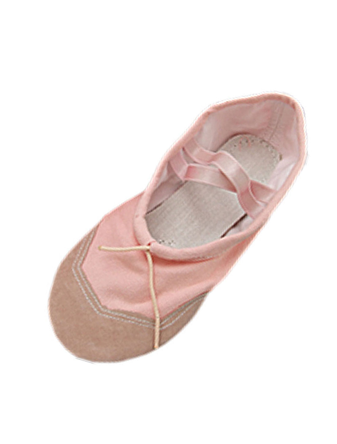 Fashion-Pink-Soft-Dancing-Dance-Ballet-Ladies-Shoes-Size-7-5