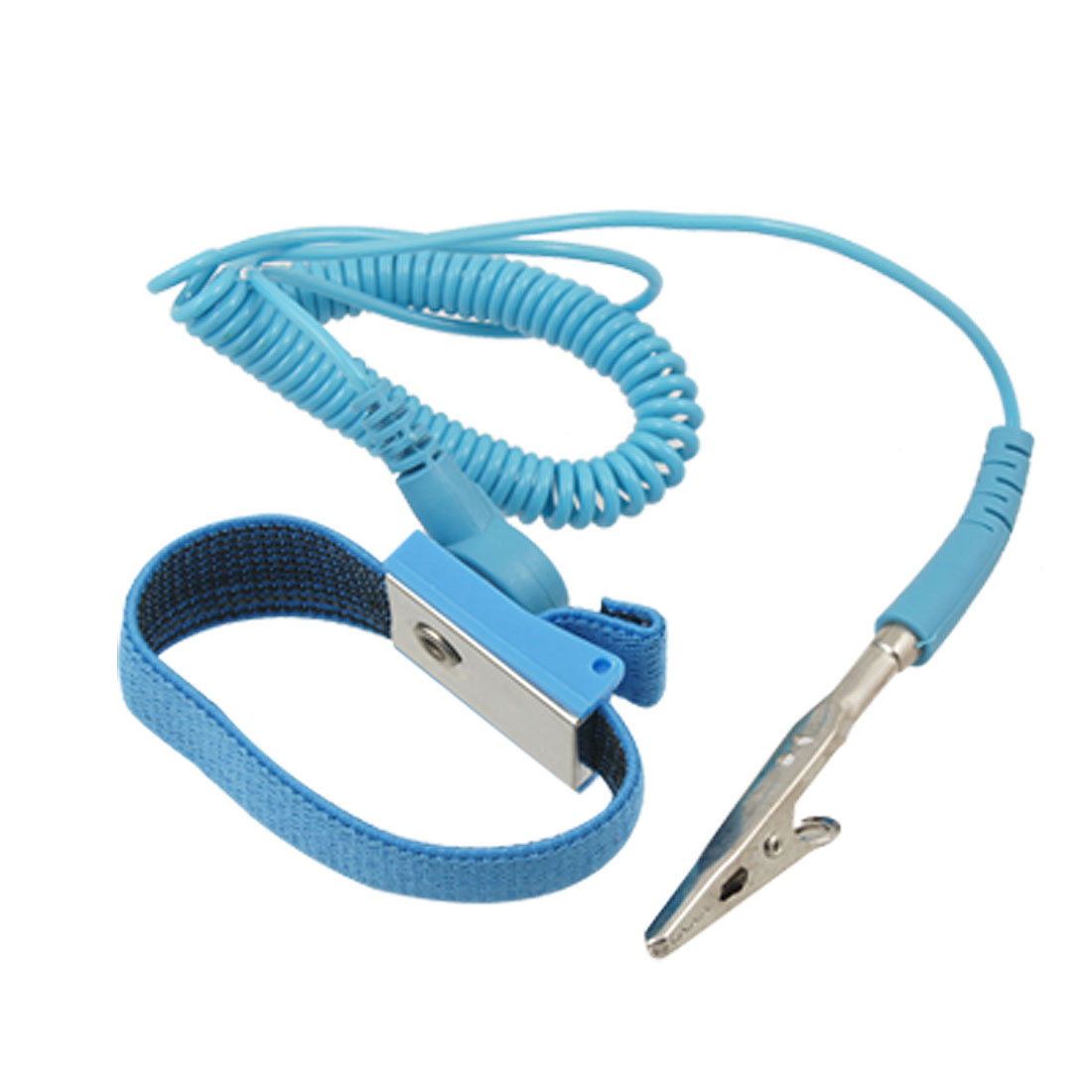 New-Anti-Static-Wristband-Wrist-Strap-Band-ESD-Discharge-Grounding-Blue