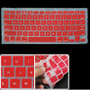 Red Soft Silicone Notebook PC Laptop Keyboard Cover Protector Skin