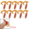 10 Pieces Soft Silicone Skin Vividly Lure Fishing Tackle Bait
