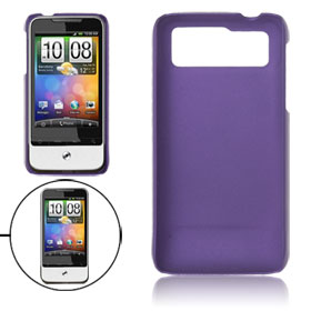 Rubberized Plastic Protective Back Cover Purple for Legend G6