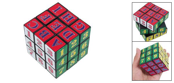 Kids Mini Colors Plastic Brain Puzzle Magic Cube Toy