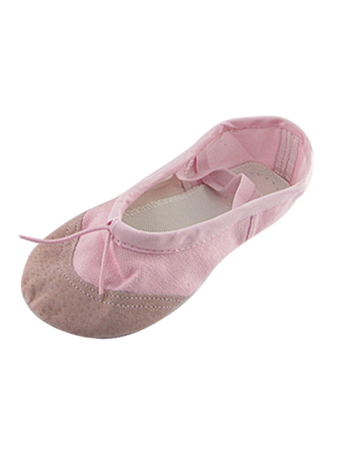 US-Sz-13-5-Elastic-Band-Dancig-Ballet-Girls-Flat-Shoes-Gqirv