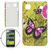 Butterfly Mini Letters Hard Plastic Back Case for Samsung Galaxy S i9000
