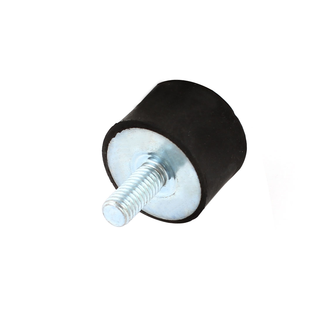 8-x-25mm-Male-Thread-Rubber-Blk-Base-Vibration-Isolator-Mount