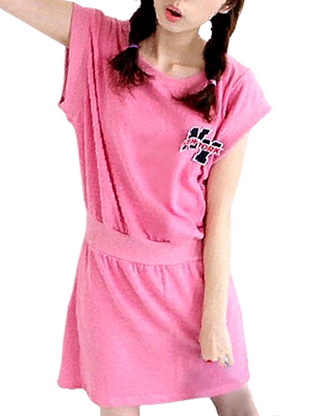 Allegra K Women's Casual Shift Dress