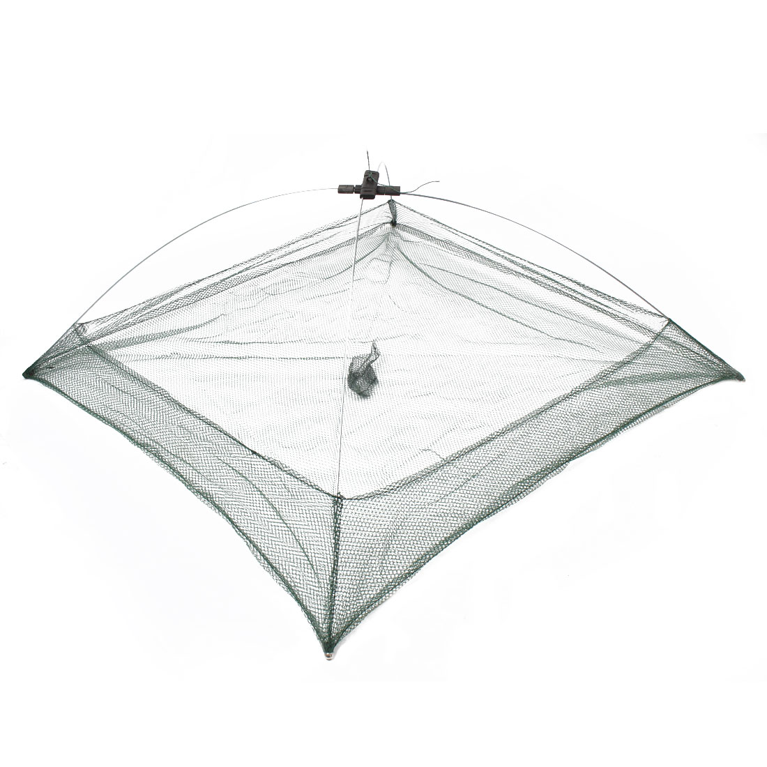 Foldable-Hex-Mesh-Crab-Trap-Baits-Cast-Umbrella-Shape-Dip-Net-Yooyb