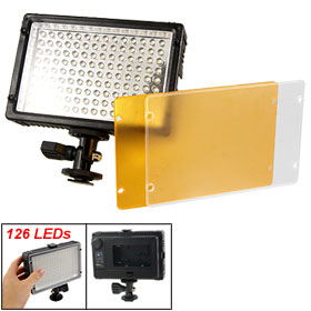 Photographic Camera Camcorder 126 LEDs Light Video Lamp