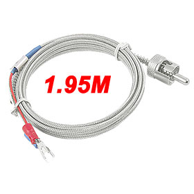 Temperature Controller K Type Thermocouple Sensor Probe 1.95M