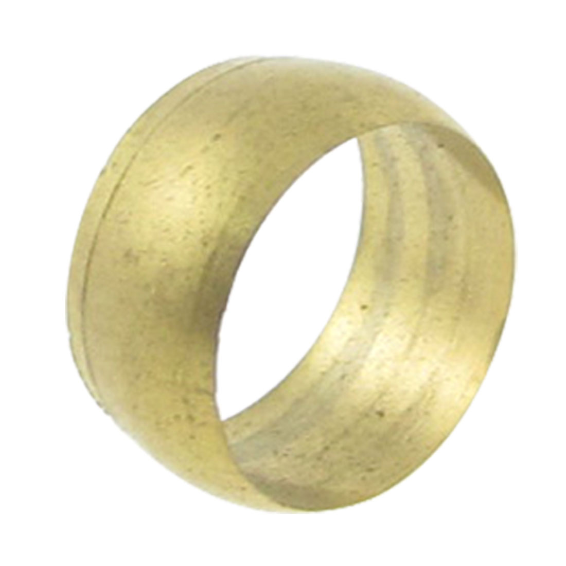 15-32-Diameter-Brass-Compression-Sleeve-Ferrule-Gold-Tone
