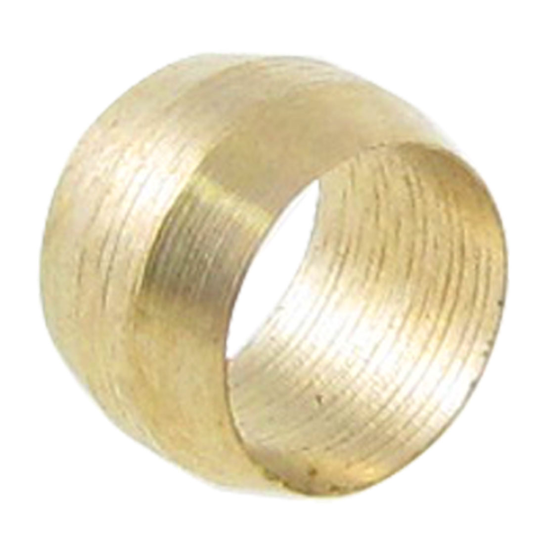 15-64-Diameter-Tubing-Brass-Compression-Sleeve-Ferrule-Gold-Tone