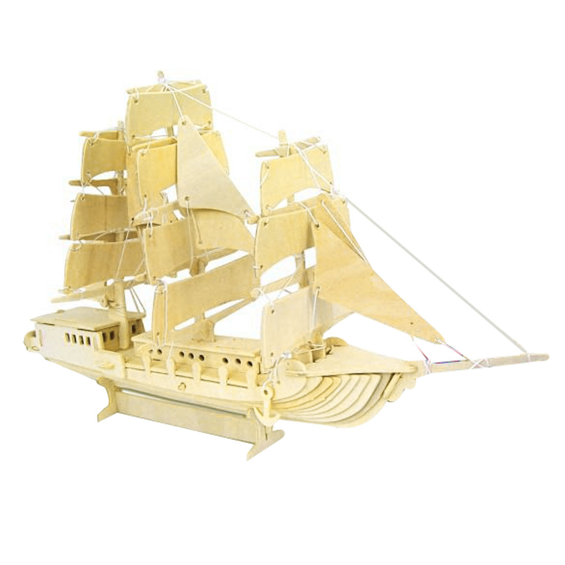 Child-Woodcraft-DIY-Sailing-Boat-Construction-Assemble-Toy