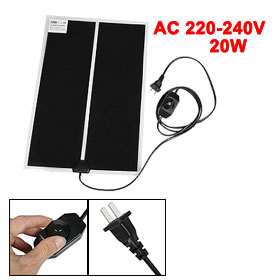 "59"" Long Cable 20W Power Car Dog Pet Heating Pad Mat AC 220-240V"