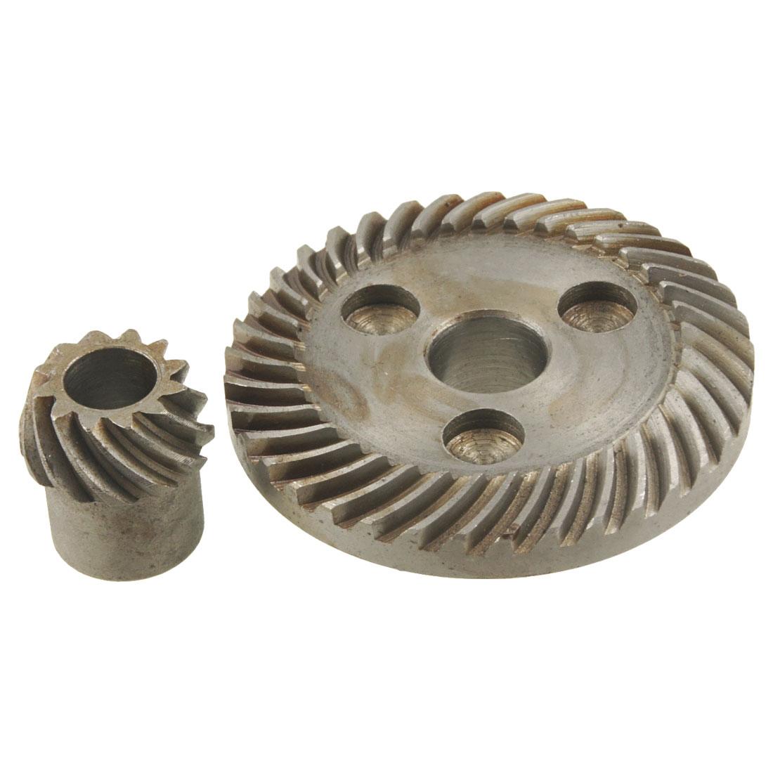 2-Pcs-Spiral-Bevel-Gear-for-Black-Decker-6288-Angle-Grinder