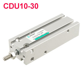 30mm Length Stroke 10mm Broe Single Rod Pneumatic Cylinder