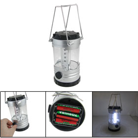 Portable White 12 LED Bivouac Camping Lantern Light Lamp Fishing Torch