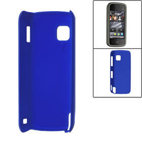 Royal Blue Rubberized Plastic Back Case Cover for Nokia N5230