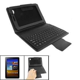 Built-in Wireless bluetooth Keyboard Case for Samsung Galaxy Tab 6800