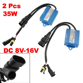 2 Pcs Vehicle Auto Car Headlight HID Xenon Lamp Bulb Ballast 35W