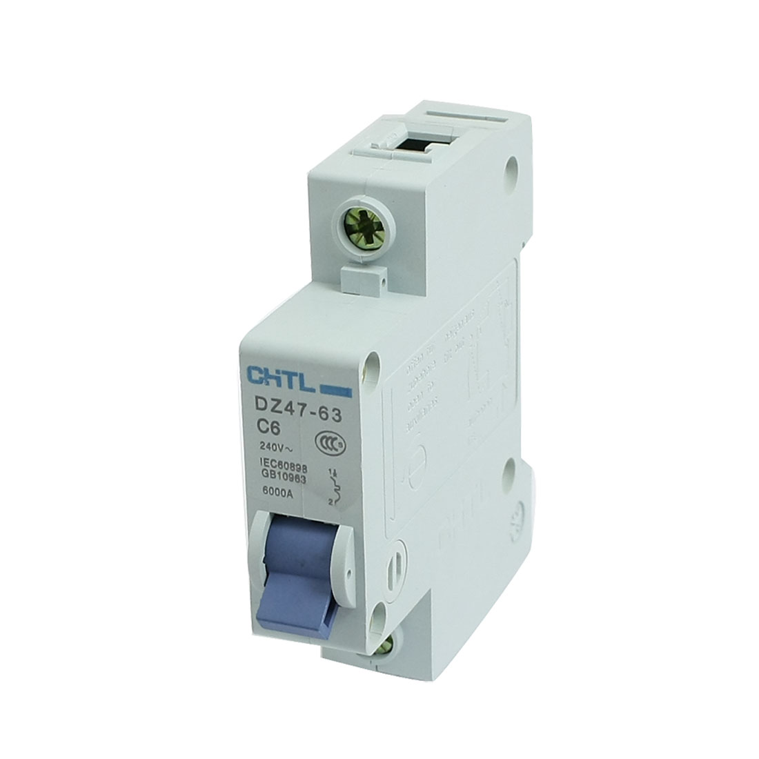 DZ47-63-C6-Single-Pole-Overload-Miniature-Circuit-Breaker-AC-240V-6000A