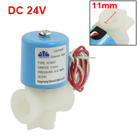 "DC 24V Direct Acting 1/2"" Thread Port Solenoid Valve"