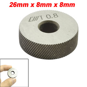 Diagonal Coarse 0.8mm Pitch Knurl Knurling Wheel Roller