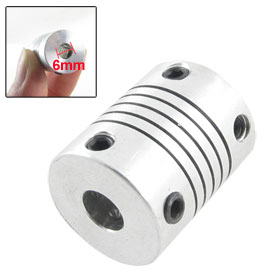 17mm Diameter 22mm Length 6 x 6mm Encode Beam Coupling Coupler