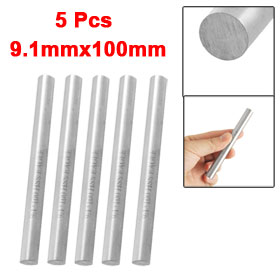5 Pcs 9.1mm Dia 100mm Long High Speed Steel HSS Lathe Bar Round Rod