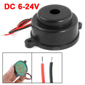 LZQ-3022 DC 6-24V 2 Wire Industrial Electronic Discontinuous Sound Buzzer 60dB