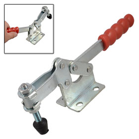200W 400Kg 882 Lbs Capacity Quick Holding Horizontal Type Toggle Clamp
