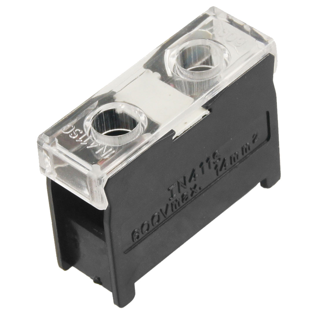 Electrical-2-Screw-Terminals-Block-Wire-Connector-600V-60A