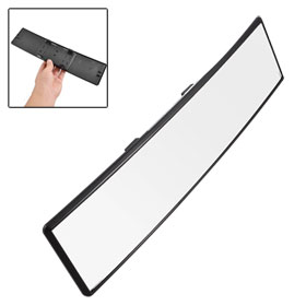 Auto Car Interior Plastic Frame Wide Angle Rearview Mirror 300mm Long