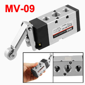 MV-09 Roller Lever 2 Position 5 Way Mechanical Valve