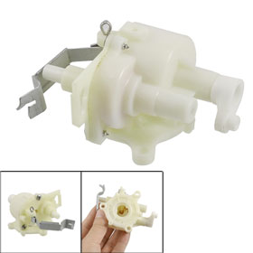 Off White Plastic Parts Gear Box Replacement for Electric Fan