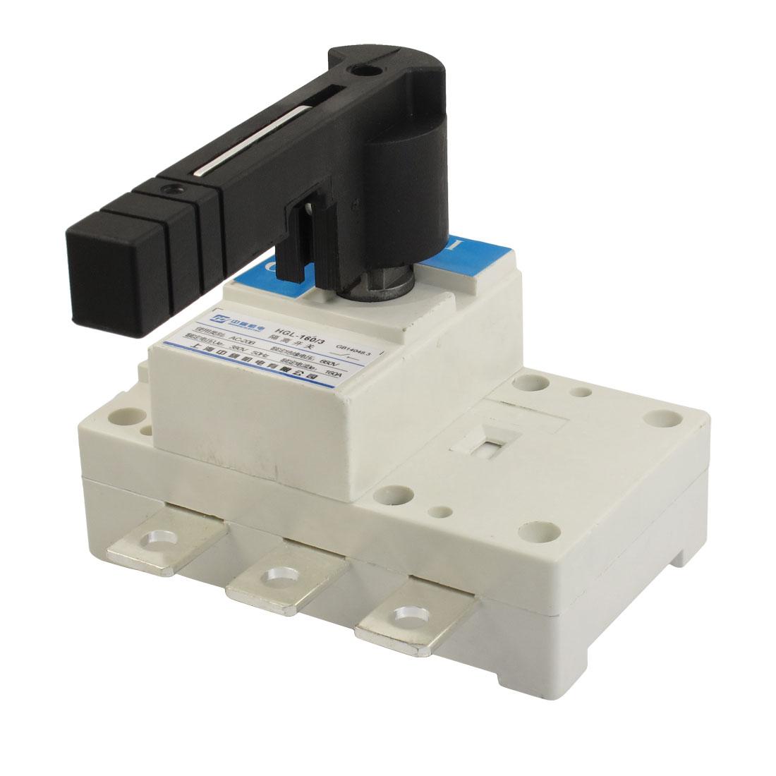 AC-380V-50Hz-160A-2P-E-660V-Ui-Electronic-Corcuit-Isolating-Switch