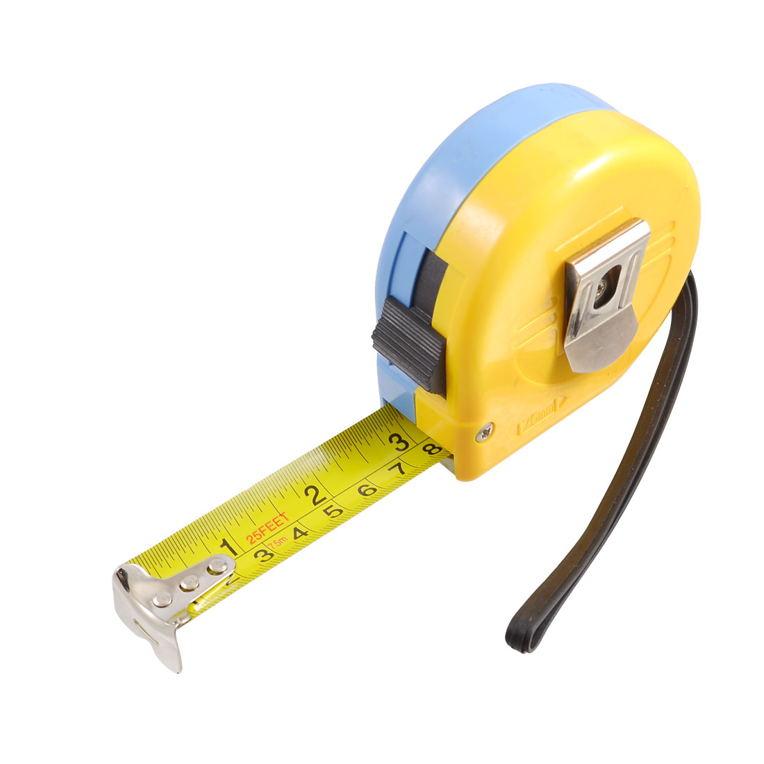 7-5M-25-Feet-Retractable-Measuring-Tool-Metric-English-Ruler-Tape-w-Strap