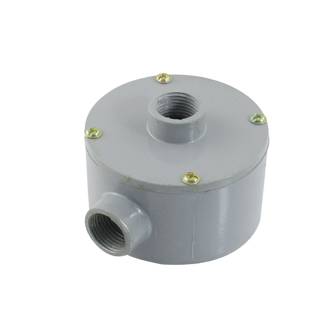 G1-2-Thread-Two-Holes-Conduit-Wiring-Round-Metal-Junction-Box