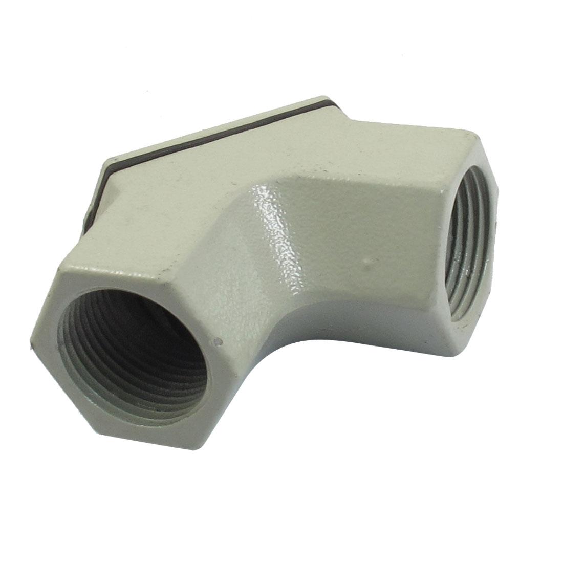 Metal-Case-Two-Hub-Ingot-Shaped-Explosion-proof-Conduit-Box-G1