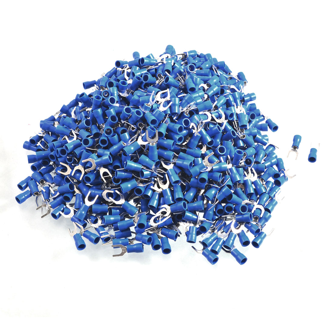 1000-x-Blue-PVC-Insulating-Sleeve-Furcate-Terminals-Cable-Lug-SV2-5