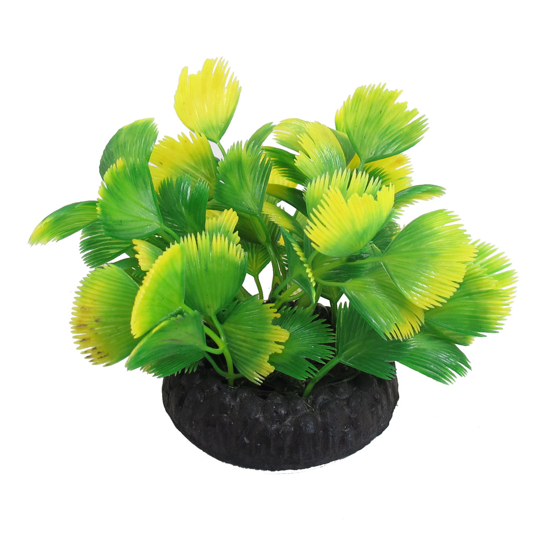 Manmade-Plastic-Yellow-Green-3-9-Height-Plants-for-Fish-Tank