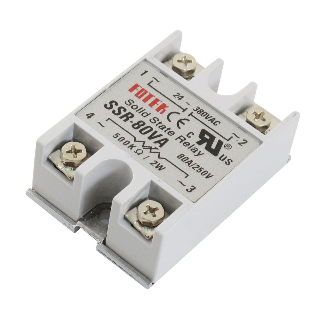 Temperature-Control-SSR-80VA-Solid-State-Relay-250VAC-80A-500-Kohm-2W