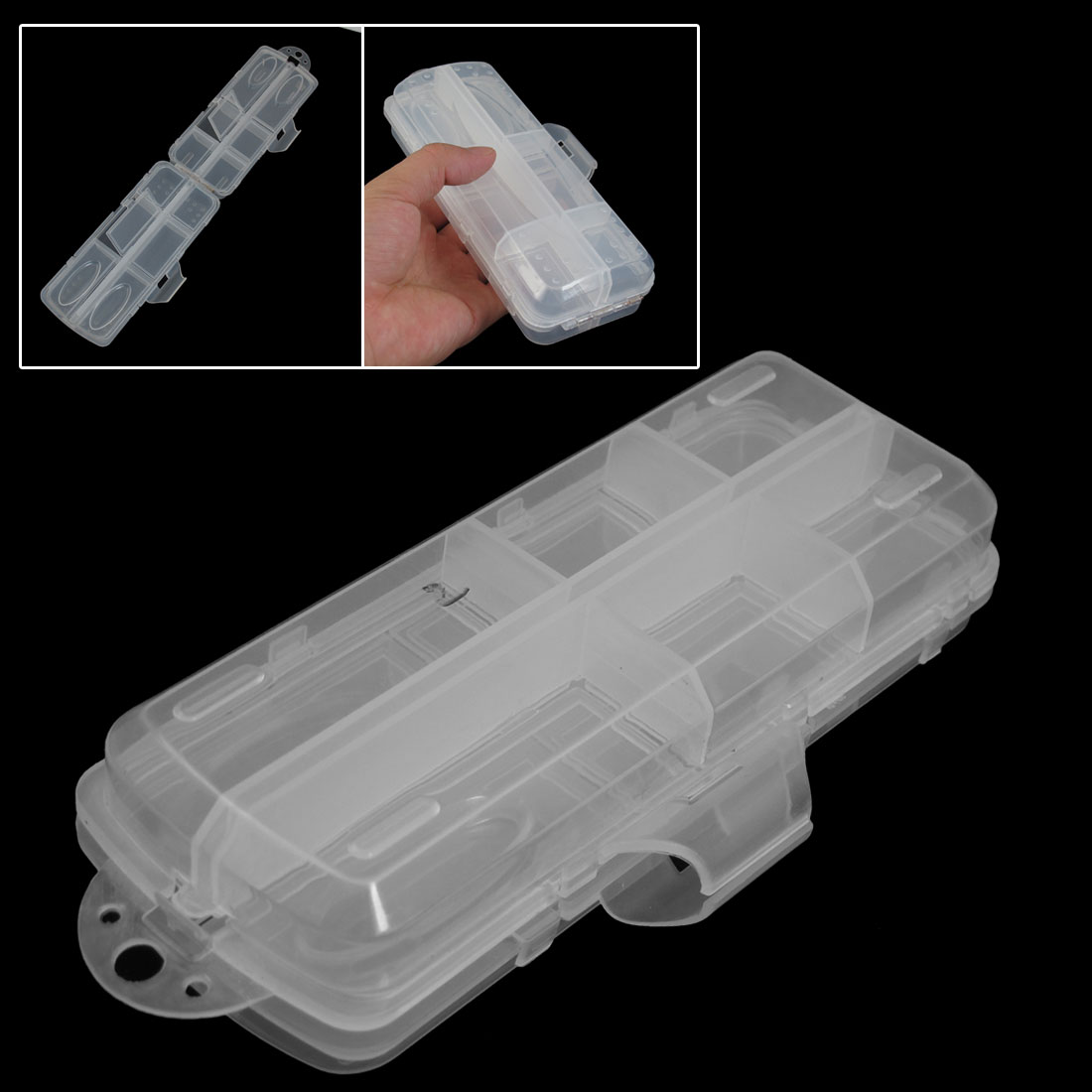 Rectangular-Plastic-12-Slots-2-Layer-Box-Fishhook-Lure-Storage-Case-Container