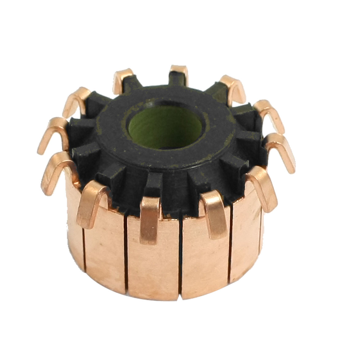 8mm-x-23mm-x-16mm-12-Gear-Tooth-Copper-Shell-Mounted-On-Armature-Commutator
