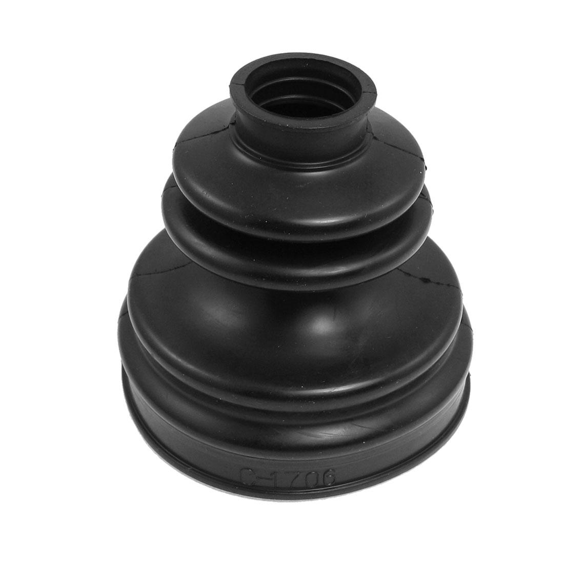 Essieu intérieur caoutchouc noir CV Joint cAChe-poussière amorçage pour Audi A6