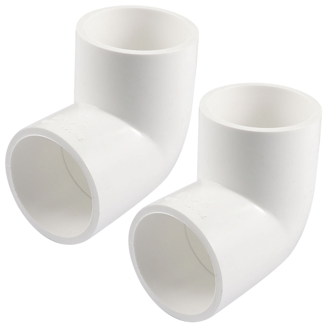 2-x-40mm-Dia-90-Angle-Degree-Elbow-PVC-Pipe-Fittings-Adapter-Connector-White