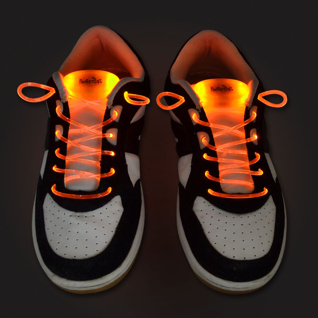 2-Pcs-KTV-Bar-Orange-3-Mode-LED-Light-Up-Waterproof-Shoelaces-On-Strobe-Flashing