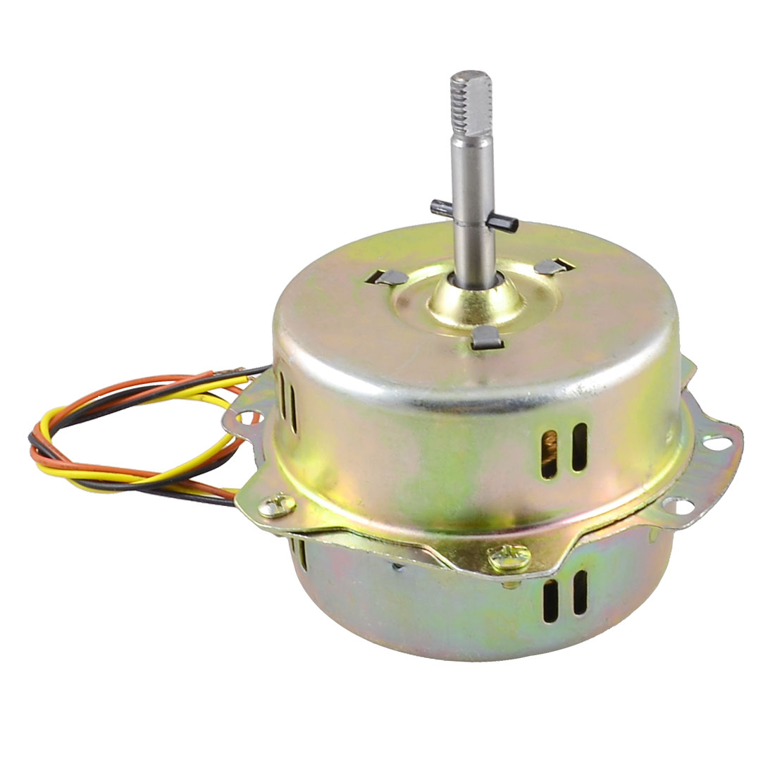 AC-220V-45W-3-Cable-3-1-Dia-Micro-Motor-Brass-Tone-for-Exhaust-Fan
